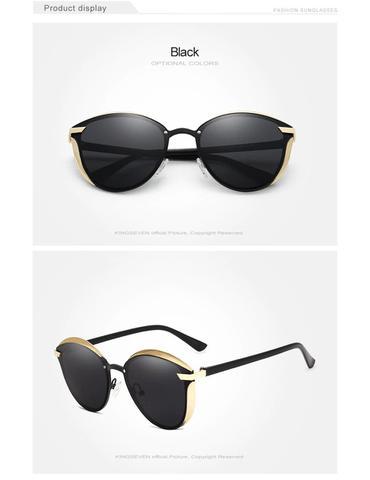 Imagem de Óculos de Sol Kingseven Feminino Polarizado UV400
