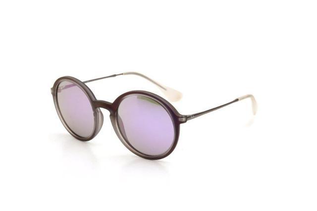 9b08987df4d4d Óculos de Sol Masculino Ray Ban Acetato Espelhado Roxo - Ray-ban ...