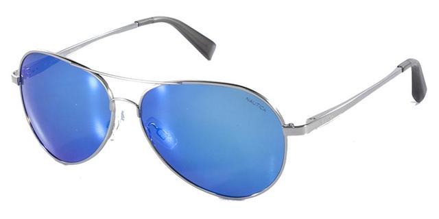 Óculos de Sol Nautica N5110S Prata - Óculos de Sol - Magazine Luiza 0ab8c7a2da