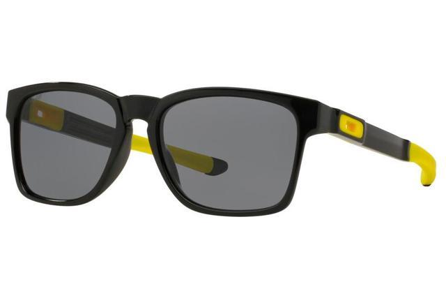 1d3601ef7532d Imagem de Óculos de Sol Oakley Catalyst 0OO9272 17 55 Preto Polido Lente  Cinza