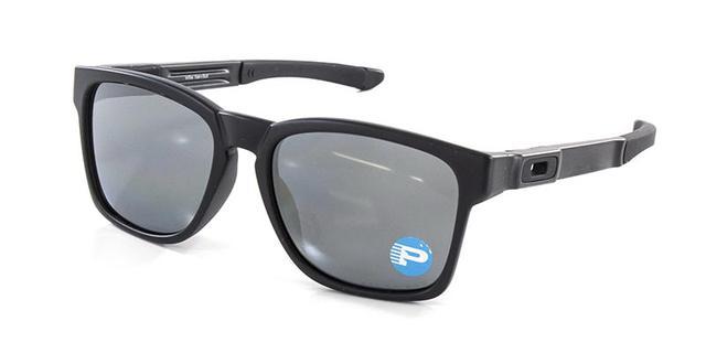 Óculos de Sol Oakley Catalyst OO9272 Preto Polarizado - Óculos de ... eaddd7f738