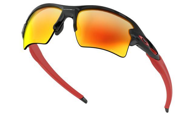 1e3930600 Óculos de sol Oakley Flak 2.0 XL Black Prizm Ruby - - - Magazine Luiza