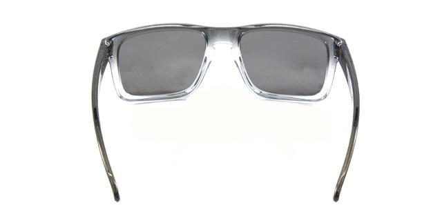 3d18386f1 Imagem de Óculos de Sol Oakley Holbrook OO9102 Cinza Transparente Lentes  Espelhadas e Polarizadas