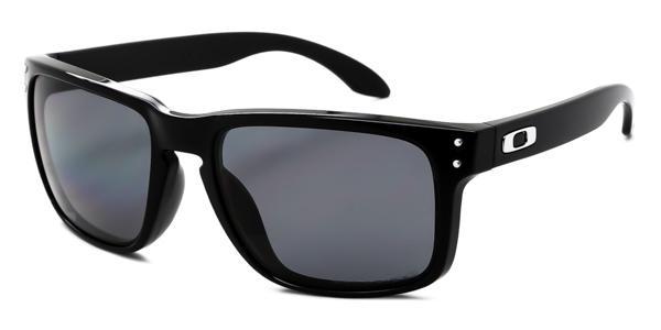 f073c22f4b734 Imagem de Óculos de Sol Oakley Holbrook OO9102 Preto Polido Lente Polarizada