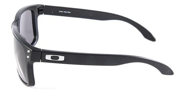 d522246f79cb5 Óculos de Sol Oakley Holbrook OO9102 Preto - Óculos de Sol ...