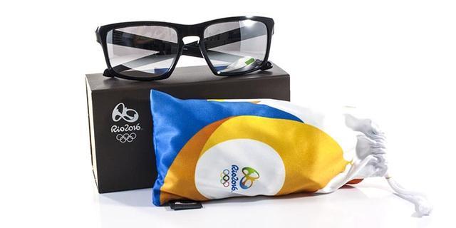 Imagem de Óculos de Sol Oakley Sliver Olimpíadas (RIO2016) OO9262 Preto  Lente Cromo Iridium 56a142e5ee