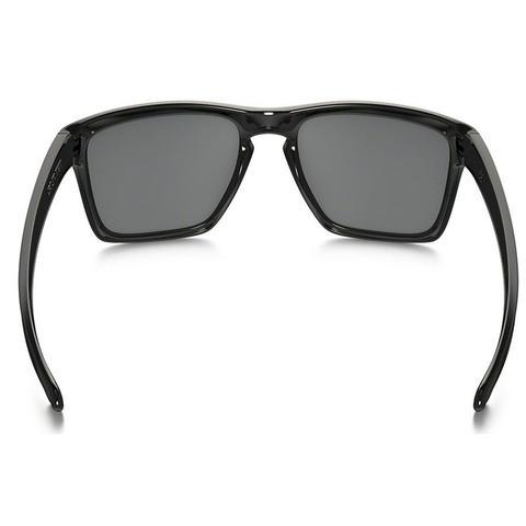 da4d5cb8cb8ab Imagem de Óculos de Sol Oakley Sliver XL Preto Brilhoso com Lente Preta  Iridium