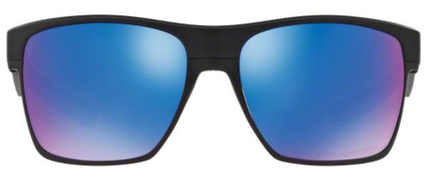 5392e6446cfa9 Imagem de Óculos de Sol Oakley TWOFACE XL OO9350 Preto Lentes Safira Iridium  Polarizadas