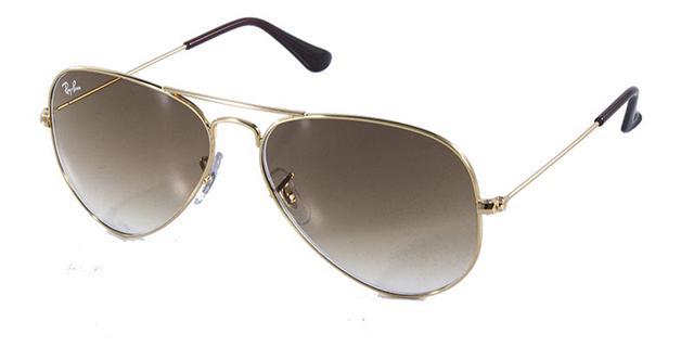 Imagem de Óculos de Sol Ray Ban Aviador Clássico RB3025 Ouro Lente Marrom lente  62 c5a9ce5bdc