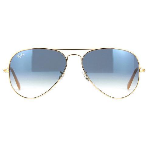 Óculos de sol Ray Ban Aviador Gradient Light Blue - Ray-ban - Óculos ... 0005fc0213