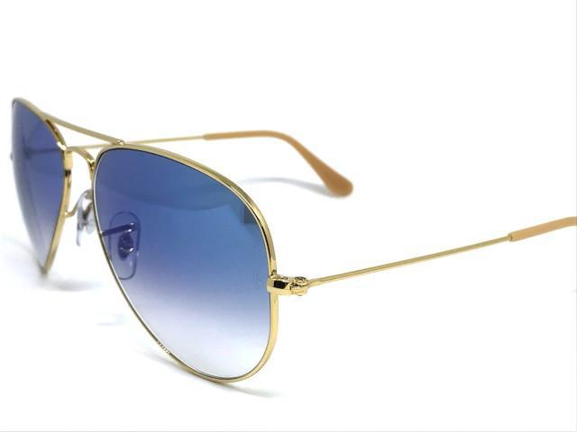 c550d8f2b9940 Oculos de sol Ray Ban Aviador médio RB 3025 001 3F 58 - Óculos de ...