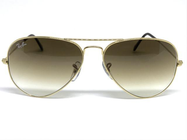 2293067ef Oculos de sol Ray Ban Aviador/médio RB 3025L 001/51 58 R$ 431,50 à vista.  Adicionar à sacola