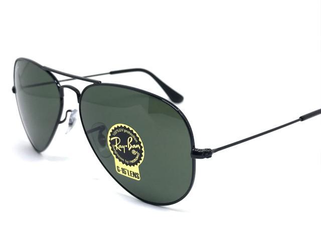 390640f5ee96d Oculos de sol Ray Ban Aviador médio RB 3025L L2823 58 - Óculos de ...