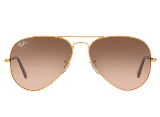 913a4d82e Imagem de Óculos de Sol Ray Ban Aviador RB3025 9001A5 Bronze Lente Rosa  Marrom Degradé Tam
