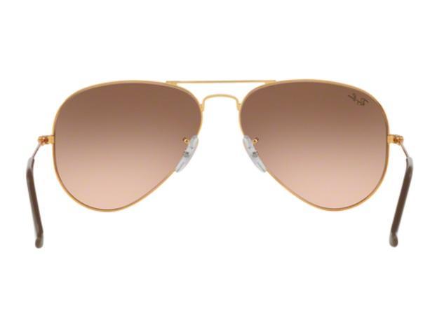 0eb55b5877c96 Imagem de Óculos de Sol Ray Ban Aviador RB3025 9001A5 Bronze Lente Rosa  Marrom Degradé Tam