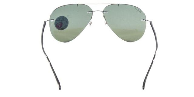 5492a7cab Imagem de Óculos de Sol Ray Ban Aviador RB8058 Prata Lente G15 Polarizado