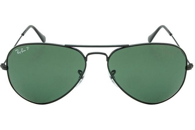 d286e6e8a5075 Óculos de Sol Ray Ban Aviator Large Metal L RB3025L 002 58 58 Preto ...