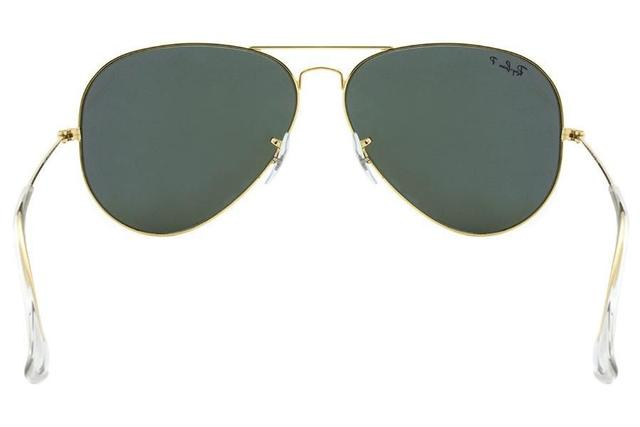 c8334a0c054e7 Óculos de Sol Ray Ban Aviator RB3025L 001-58 62 Dourado - Lente ...