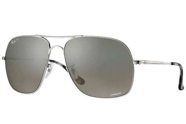 b5c629e1d Imagem de Óculos de Sol Ray Ban Chromance RB3587CH 003-5J/61 Prata -