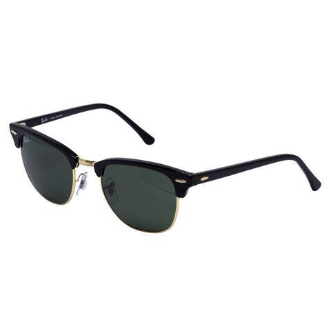 93377edee6f89 Imagem de Óculos de Sol Ray Ban Clubmaster RB3016L CW0365 - metal  dourado acetato preto