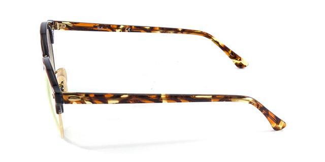 97a9180474dfc Imagem de Óculos de Sol Ray Ban CLUBROUND RB4246 Tartaruga Lente Rosa  Espelhada