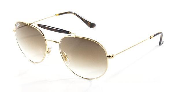 04ef42a74 Imagem de Óculos de Sol Ray Ban Craft Caçador Outdoorsman RB3540 Ouro