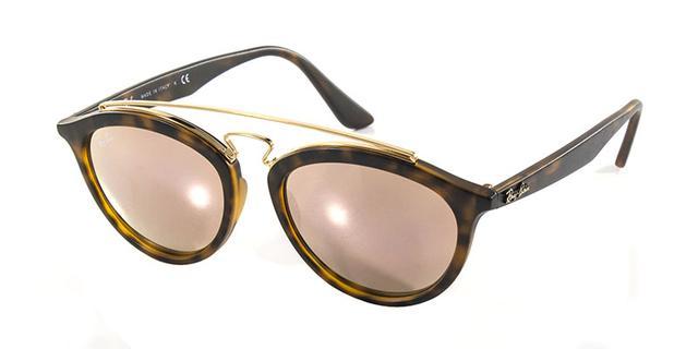 Óculos de Sol Ray Ban Gatsby Oval RB4257 Tartaruga Lente Rosa - Ray ... ec74a10834