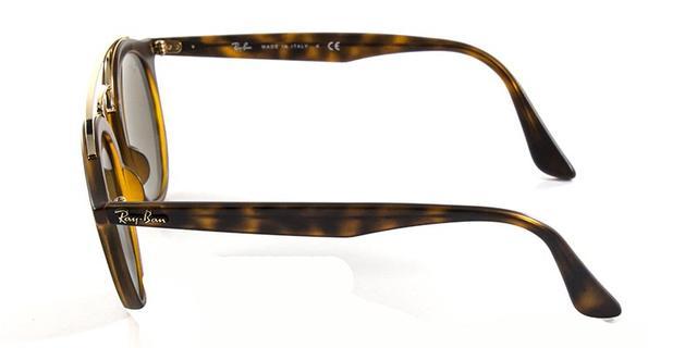 b0e7356395458 Imagem de Óculos de Sol Ray Ban Gatsby RB4256 Tartaruga Lente Ouro Espelhada