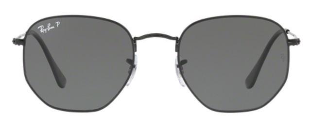 Imagem de Óculos de Sol Ray Ban Hexagonal Metal RB3548 Preto Lente Verde  Flat Polarizada 54 04a2c6d69a