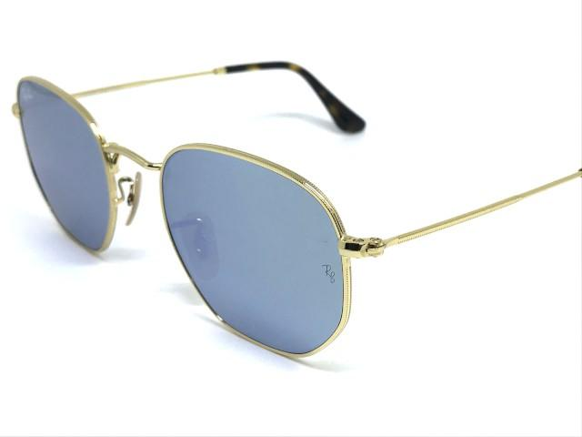 Óculos de Sol Ray Ban Hexagonal RB 3548N 001 30 51 - Óculos de Sol ... 3776420df2