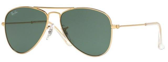 c1aff19e0 Imagem de Óculos de Sol Ray Ban Junior Aviador RJ9506 Ouro Lente Verde G15
