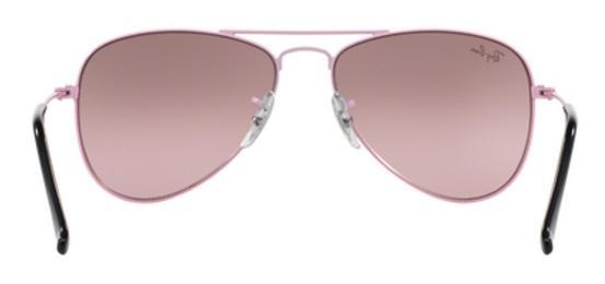 Imagem de Óculos de Sol Ray Ban Junior Aviador RJ9506 Rosa Lente Rosa  Espelhada 5c7ac6786f