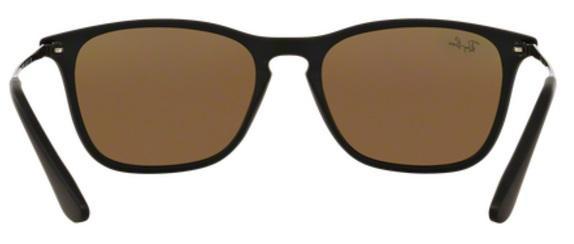 Imagem de Óculos de Sol Ray Ban Junior Chris RJ9061 Preto Lente Azul  Espelhada 532602d6af