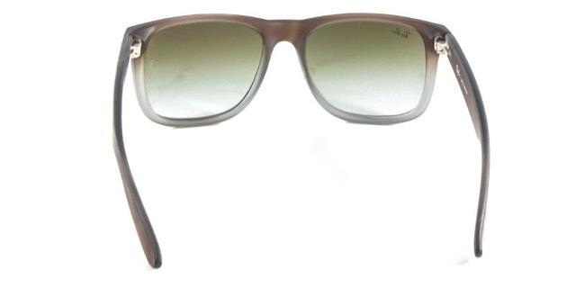 4ea1bf06e793f Óculos de Sol Ray Ban Justin RB4165 Marrom Cinza - Ray-ban - Óculos ...
