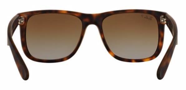 Imagem de Óculos de Sol Ray Ban Justin RB4165 Tartaruga Lentes Polarizadas c5c84a8366