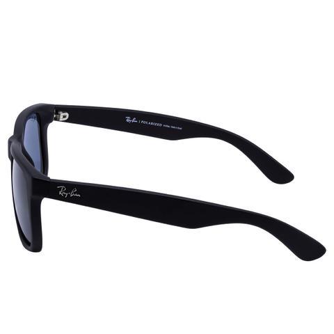 Óculos de Sol Ray Ban Justin RB4165L 622 2V - acetato preto, lente ... 0fb6524d71