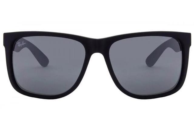 4fe88b5e436ad Imagem de Óculos de Sol Ray Ban Justin RB4165L 622 6G 55 Preto Emborrachado