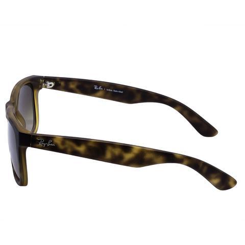 6dac449b9086c Imagem de Óculos de Sol Ray Ban Justin Rubber Matte Havana RB4165 710 13 -