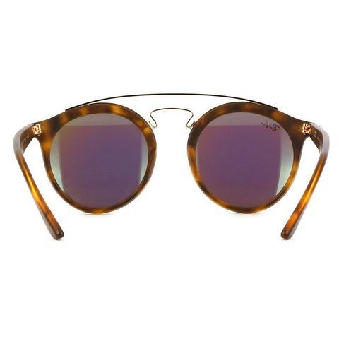 df9d9e410b19c Imagem de Óculos de Sol Ray Ban New Gatsby Round com Lente Verde Espelhada  - RB4256