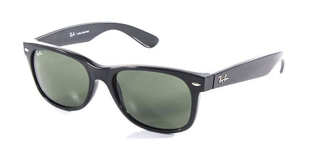 Óculos De Sol Ray Ban New Wayfarer Rb2132 Preto Lente 55 - Ray-ban ... 7575e74bc8