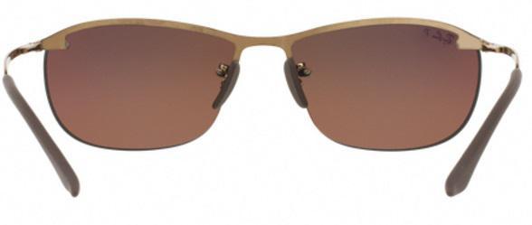 691e4316c21cd Imagem de Óculos de Sol Ray Ban RB3542 Marrom Lente Polarizada Espelhada  Chromance