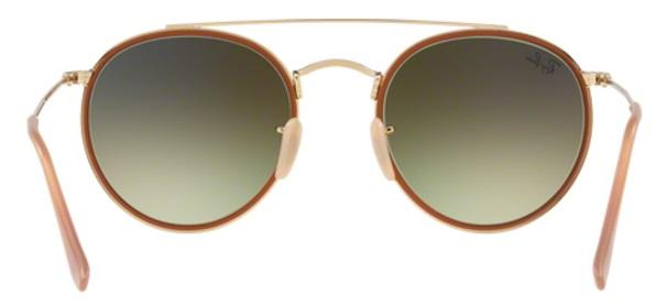Imagem de Óculos de Sol Ray Ban RB3647N Ouro Lente Espelhada Rosa Degradê 0096d114f5