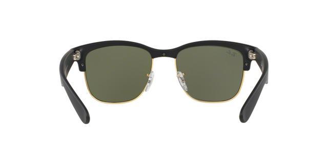 Imagem de Óculos de Sol Ray Ban RB4239L 62230 Preto Emborrachado Ouro Lente  Espelhada Prata Tam 1364ece9ce