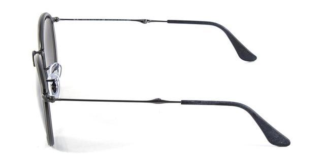 Óculos de Sol Ray Ban Round Folding RB3517 Grafite Polarizado - Ray ... 966c9f22ea