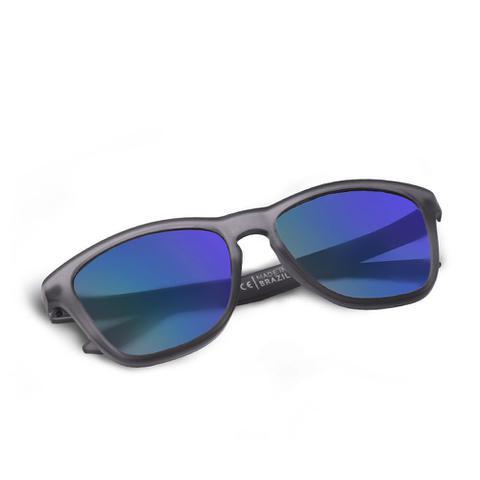 Imagem de Óculos de Sol Suncode Natural Graphite Eclipse Ocean Azul