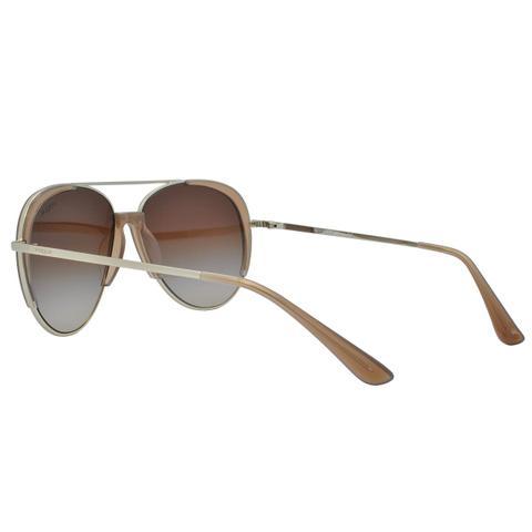 aeaafdea69d84 Imagem de Óculos de Sol Vogue Aviador Feminino VO4097S 848 13 - Metal  Dourado e