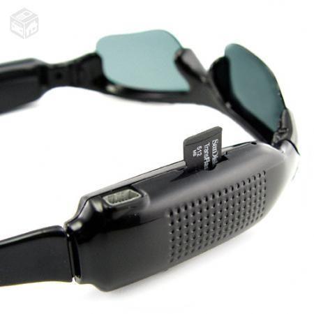 Óculos Espião C  Câmera Espiã Modelo Esportivo Ekins - Câmera ... ebe365320d