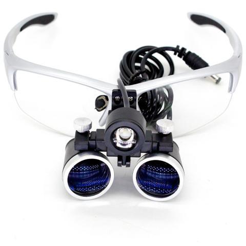 Imagem de Óculos Lupa de Cabeça Profissional com Lente de Aumento 3,5x Led 3W GT639-G - Lorben