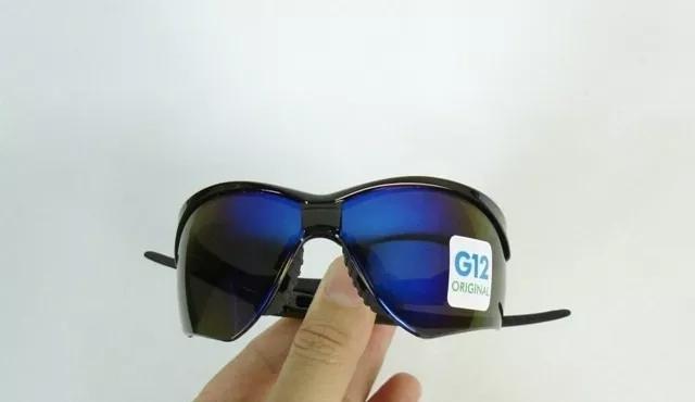 6fea48913 Imagem de Óculos Nêmesis Jackson Armação Preta Lente Azul Espelhado Uv CA