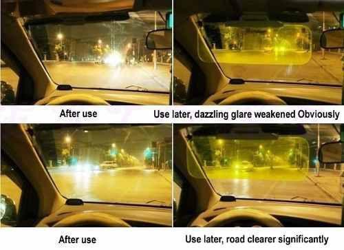 Imagem de Óculos Night Drive Para Dirigir à Noite Sobrepõe Óculos de Grau